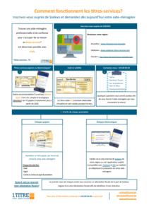 Brochure - comment fonctionnent les titres-services - agence bruxelles 1 titre des services